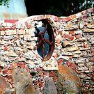 Red Brick Wall by Steven Zan