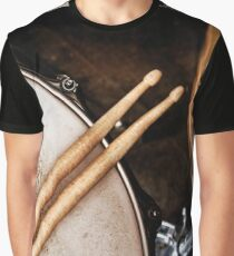 Music and instrument background Graphic T-Shirt