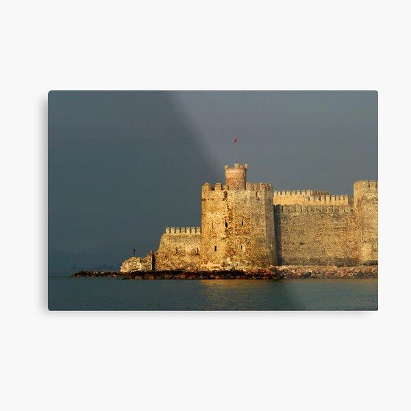 Mamure Castle in Anamur Metal Print