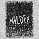 Walden Linocut by Louise Norman