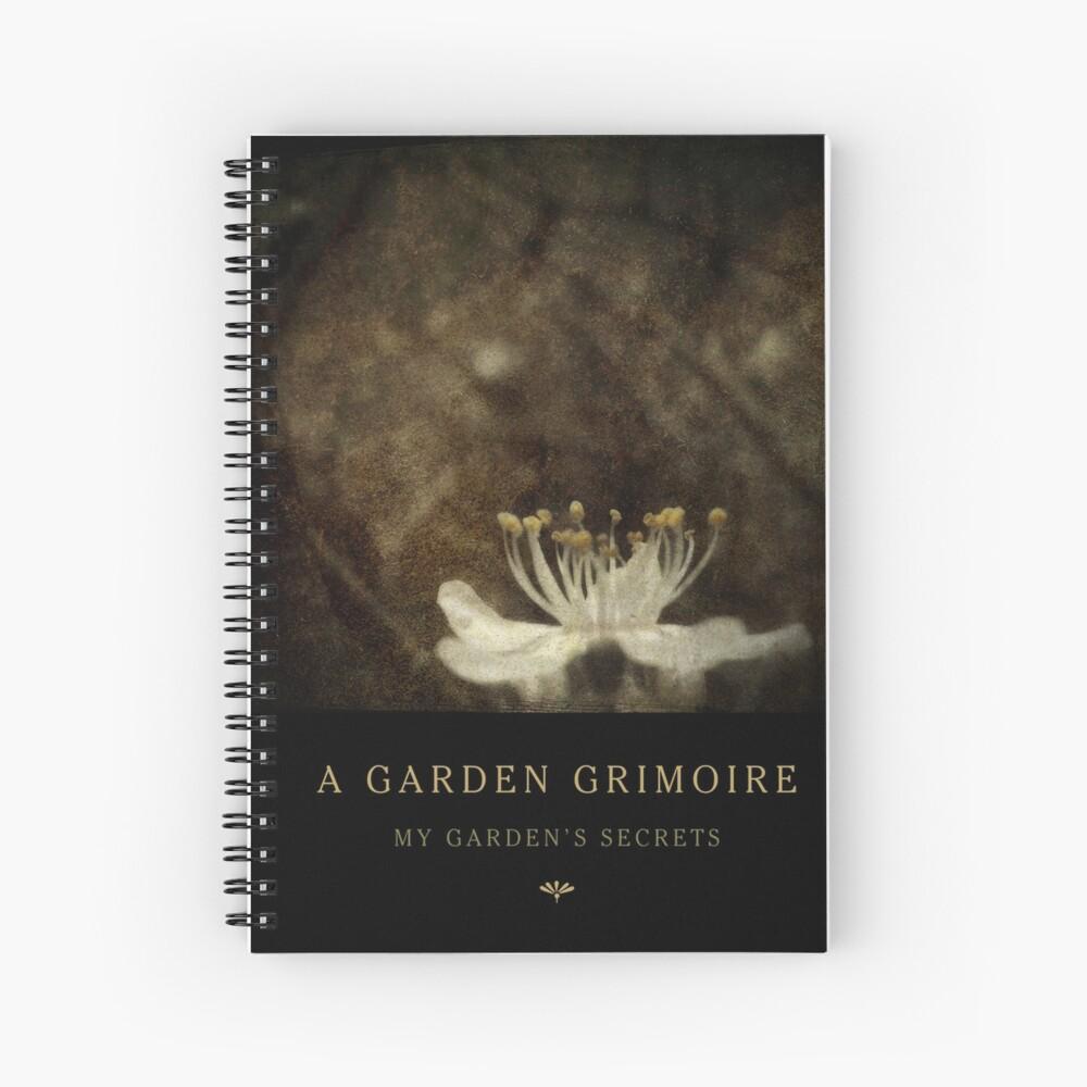 Garden Journal: Blackthorn Spiral Notebook