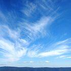 azul blue skies by Devan Foster