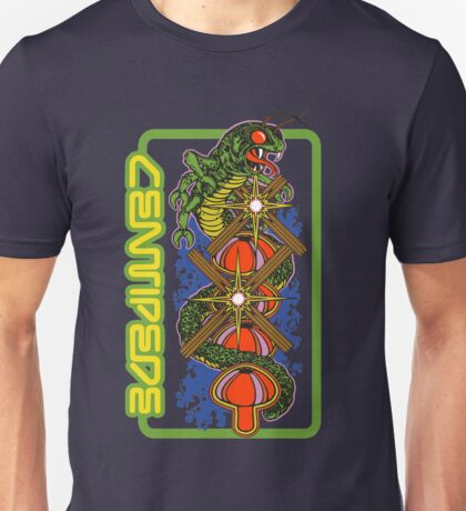 Atari Centipede 8 Bit Game Artwork T-shirt