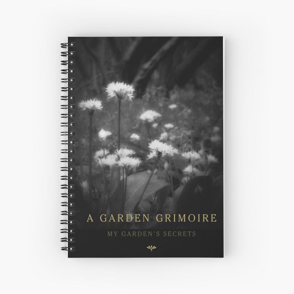 Garden Journal: Garlic Spiral Notebook