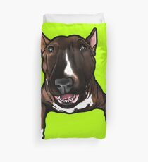 English Bull Terrier Bruce Duvet Cover