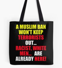 Protest Sign Tote Bag