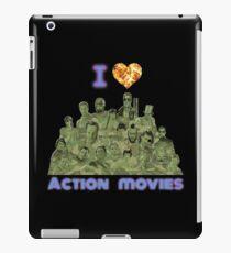I love Action Movies iPad Case/Skin