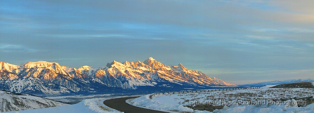 Jackson Hole, Wyoming by Spanners Illustration and Photography