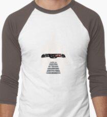 Cylon Erosion Men's Baseball ¾ T-Shirt