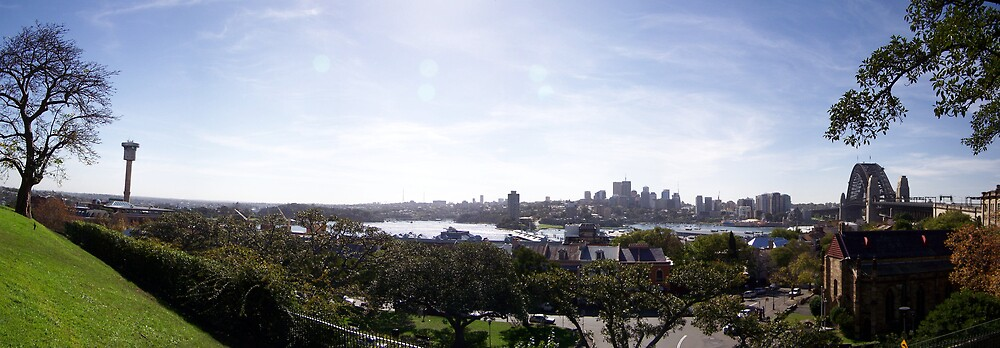 Sydney Skyline by aperture
