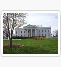 The White House Sticker