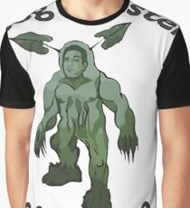 Bog Monster Of Louisiana Graphic T-Shirt