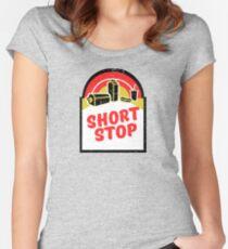 I'll be taking these Huggies and whatever cash ya got (Raising Arizona) Women's Fitted Scoop T-Shirt
