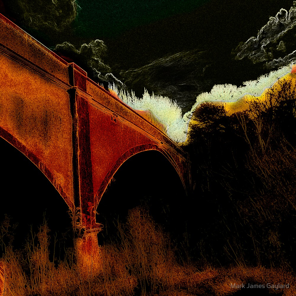 the bridge by Mark James Gaylard