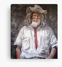 Campbell the Swagman II Canvas Print