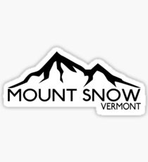 SKI MOUNT SNOW VERMONT SKIING SNOWBOARDING HIKING CLIMBING DOVER Sticker