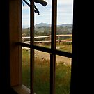 Window View Craig's Hut by Joe Mortelliti