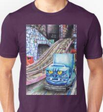 Ghost Train Roller Coaster Unisex T-Shirt