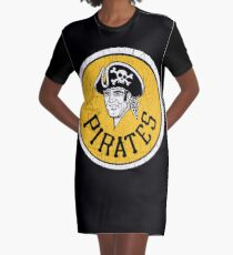Pittsburgh Pirates - We are Family Graphic T-Shirt Dress