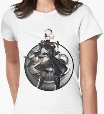 Nier: Automata 2B Emil Womens Fitted T-Shirt