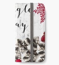 Christmas Bells Winter Holiday iPhone Wallet/Case/Skin