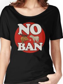 No Moose+Lamb Ban Women's Relaxed Fit T-Shirt