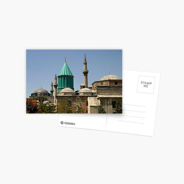 Mausoleum of Mevlana Celaleddin Rumi in Konya Postcard