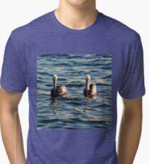 Double Trouble Tri-blend T-Shirt