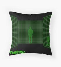 Matrix II Throw Pillow