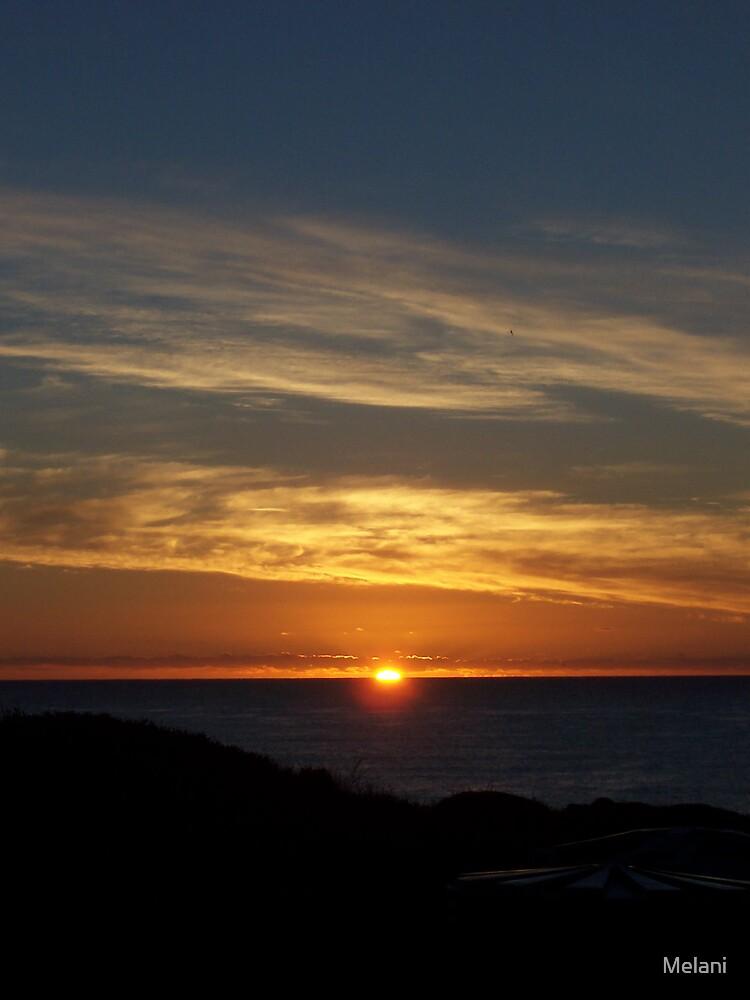 sunset by Melani