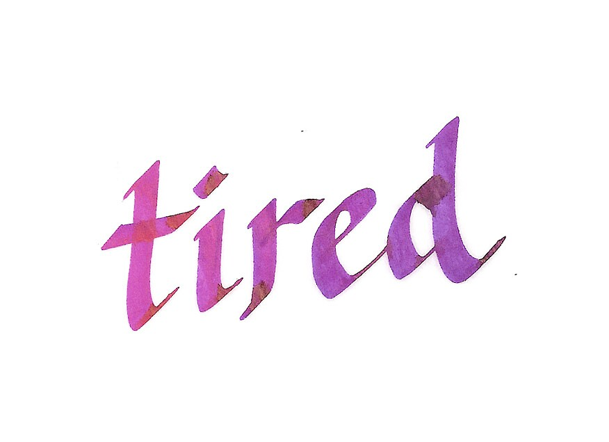 So very tired by gale