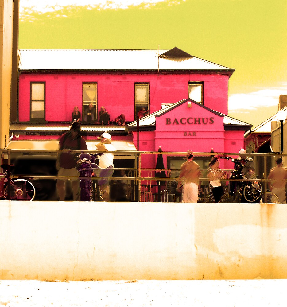Pink pub by Michelle Avery