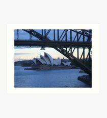 Sydney Harbour 1 Art Print