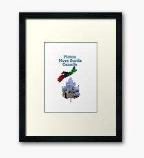 Pictou Nova Scotia Canada Framed Print