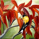 SUMAC AND GOLDFINCH by Alma Lee