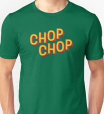 80s Retro Design - Geek, Nerd, Party, Chop Chop! Trending Design Unisex T-Shirt
