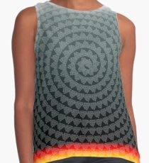Viking Valhalla Symbol in a spiral and heat from below Contrast Tank