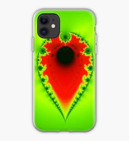 Inverted Mandelbrot III iPhone Case