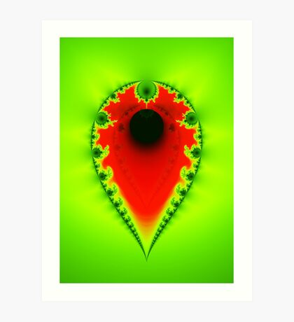 Inverted Mandelbrot III Art Print