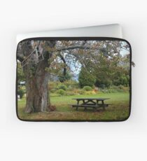 Picnic Table under an Ancient Tree Laptop Sleeve