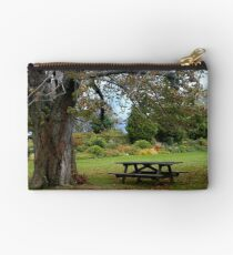 Picnic Table under an Ancient Tree Studio Pouch