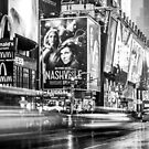 Broadway and Times Square by Randy  LeMoine