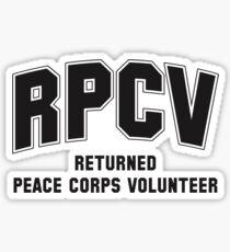 Peace Corps Volunteers Sticker