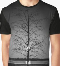 Sun Playing Hide-And-Seek With A Young Tree | New York City, New York Graphic T-Shirt