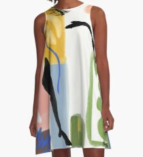 Matisse Inspired Paper Cut A-Line Dress