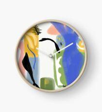 Matisse Inspired Paper Cut Clock