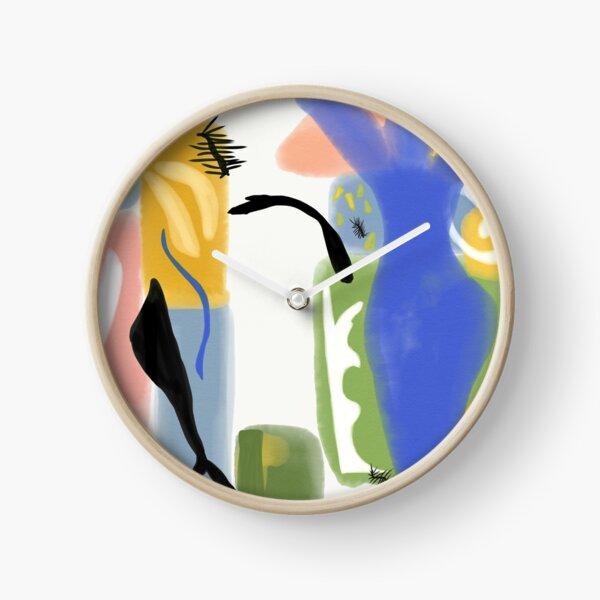 Matisse Inspired Paper Cut Horloge