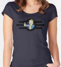 Fallout Women's Fitted Scoop T-Shirt