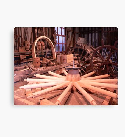 Wheelwright Shed Canvas Print
