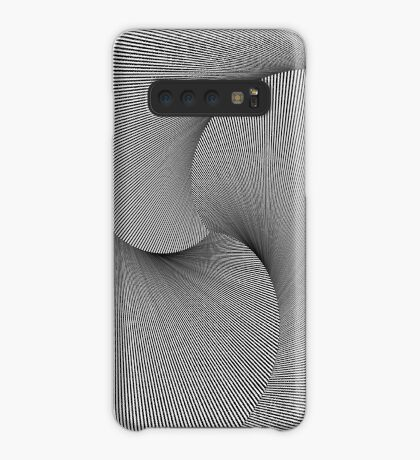 Rotated & Scaled Triangles 005 Case/Skin for Samsung Galaxy